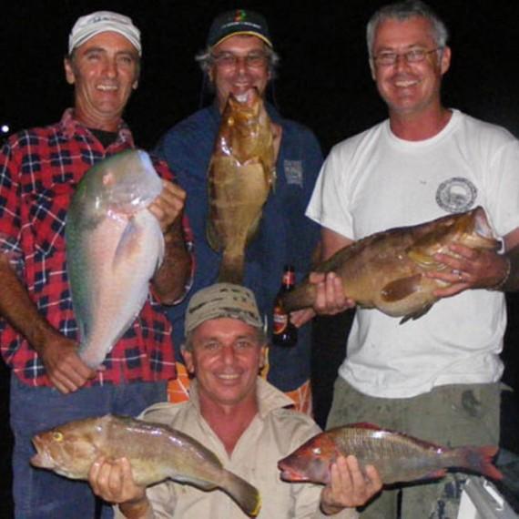 Deep sea fishing Noosa